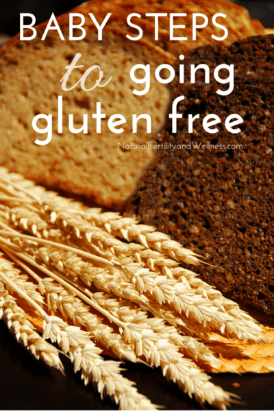 Baby steps to going gluten free