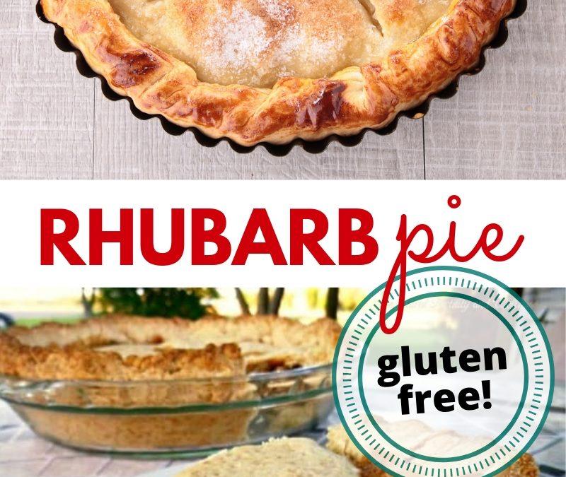 Gluten-free rhubarb pie