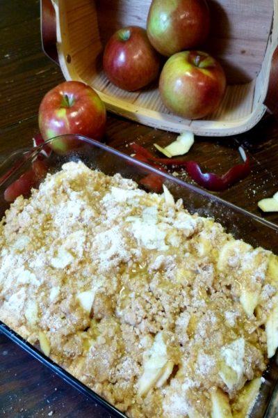 gluten-free apple crisp