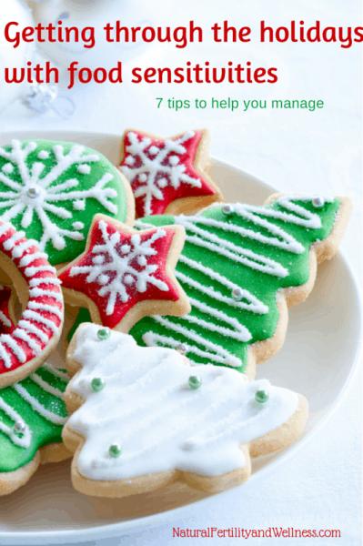 holidays and food sensitivities