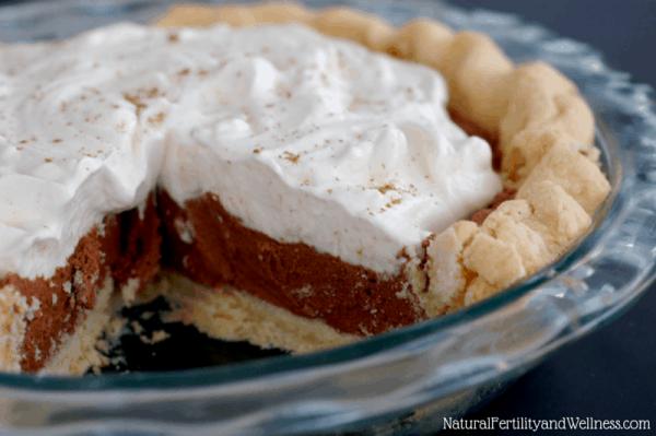gluten free french silk chocolate pie