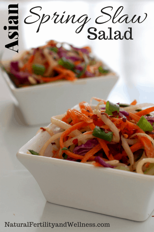Asian Spring Slaw Salad