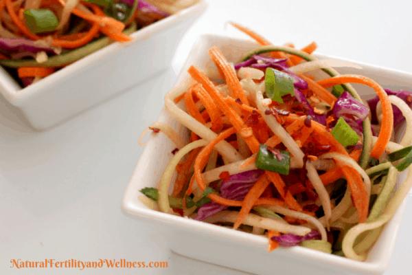 Asian Spring Slaw Salad