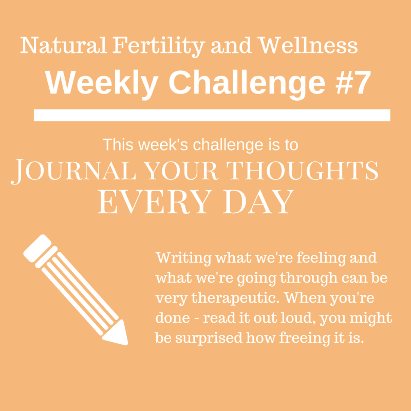 journaling during infertility