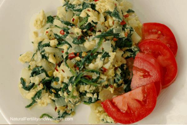 breakfast saute and tomatoes