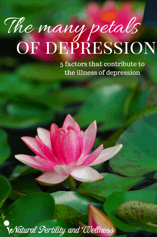 contributing factors in depression