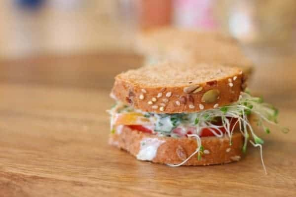 summer sandwiches - great for when it's too hot to cook!