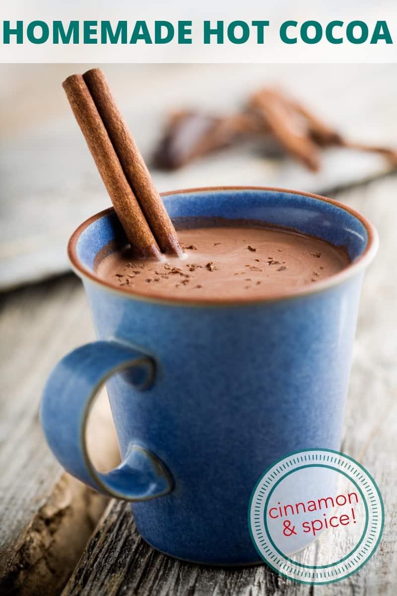 cinnamon and spice hot cocoa