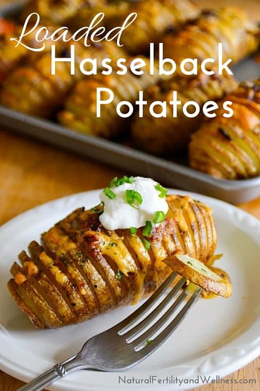 easy hasselback potatoes