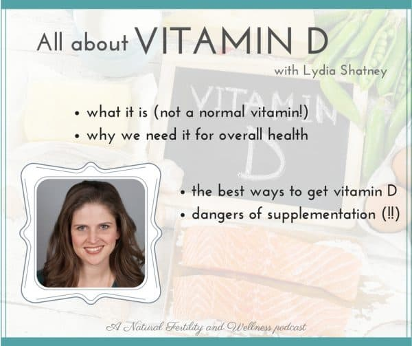 Vitamin D and fertility