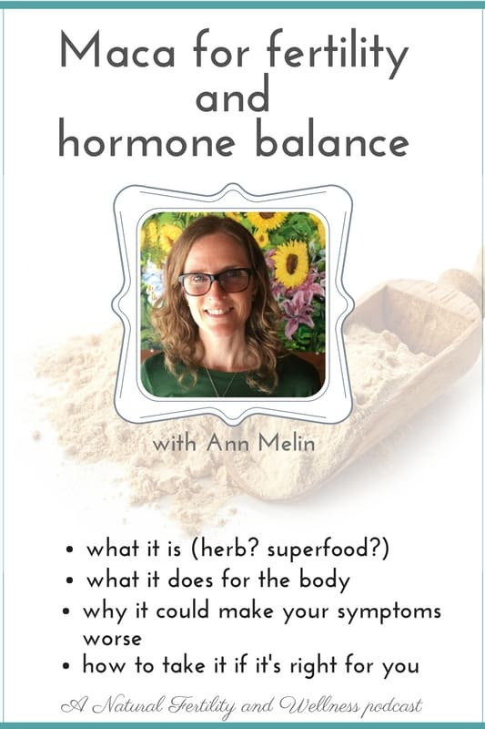 maca for fertility and hormone balance