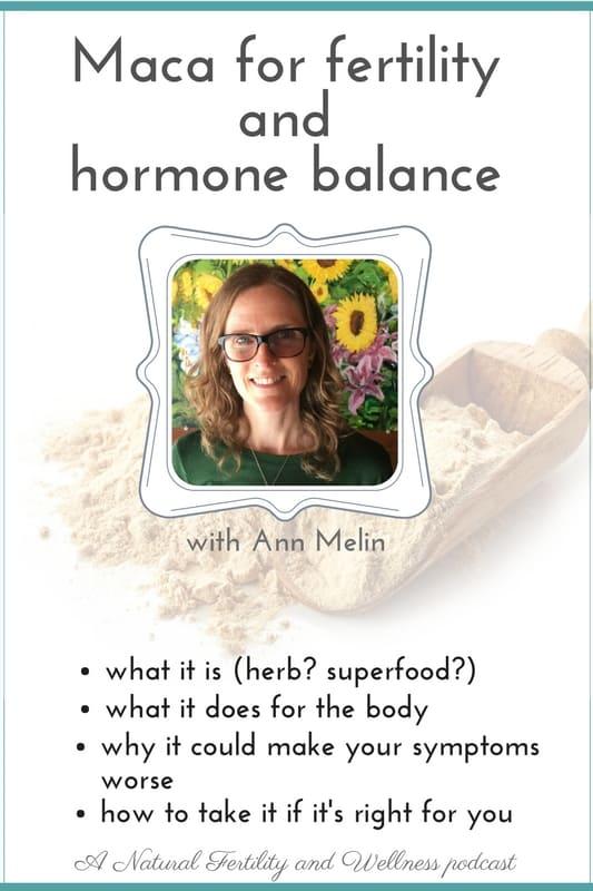 Maca for hormone balance