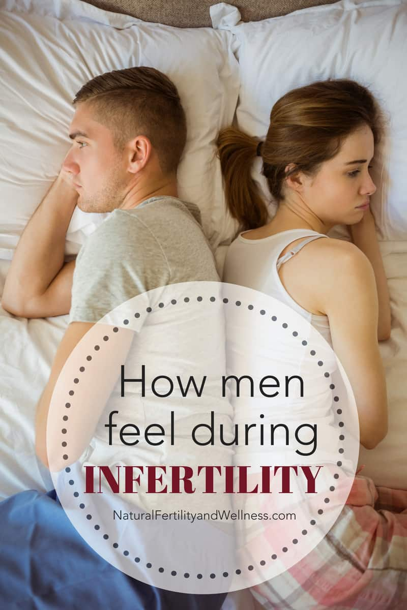 how men feel during infertility